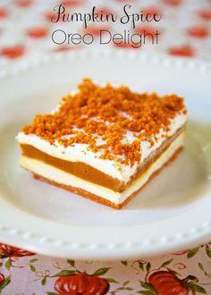 Pumpkin Spice Oreo Delight