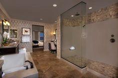 New Homes in Rancho Cucamonga, CA - La Ventana Residence Two - Master Bathroom
