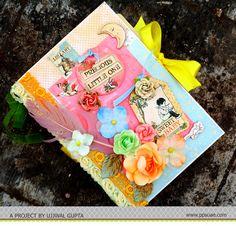 An interactive Mini Album by DT Member Ujjwal Gupta for Pretty Paper Studio