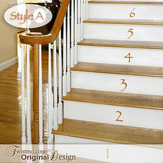 Vinyl Wall Decals  Decorating with Numbers 1 thru 9 for by Twistmo, $20.00