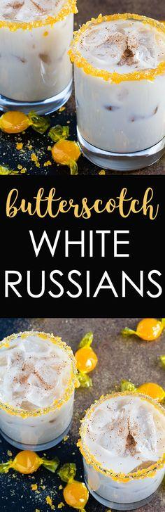 BUTTERSCOTCH WHITE RUSSIANS #Butterscotch #White #Russians