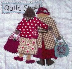Two Patch Ladies    Love it!