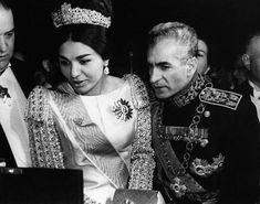 Pahlavi Dynasty, Farah Diba, The Shah Of Iran, Persian Pattern, Royal Tiaras, King Queen, Royalty, Iranian, History