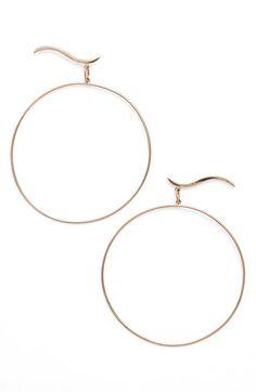 Lana Jewelry 'Wavelength' Stud Hoop Earrings available at #Nordstrom