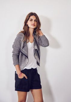 #myhush Get the look: Knitted Biker Jacket available now from www.hush-uk.com