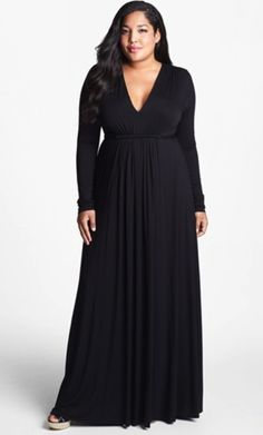 Rachel Pally Plus Size Black Caftan Dress - CLASSIC!