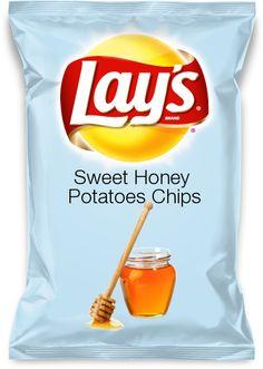 Sweet Honey Potatoes Chips #Chips #Dips #Salsa #Potato #Kettle #Corn #Rice