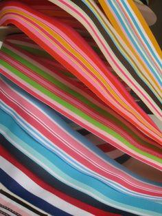 Preppy Stripe Grosgrain Ribbon