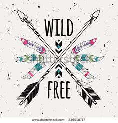wild feathers illustration - Cerca con Google