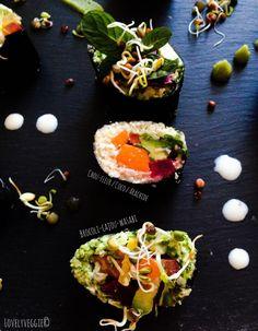 Lovely Sushis [Vegan, cru, sans gluten]   LovelyVeggie