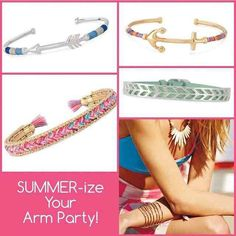 Summer-ize your #sdarmparty www.stelladot.co.uk/gillcarruthers