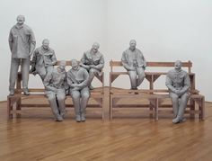 Juan Munoz, Towards the corner, Tate Modern 2006