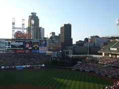 Progressive Field Downtown Cleveland