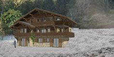 Ski Ski Chalet, Off-plan, for sale in Morzine, French Ski Ski, Ski Chalet, Skis For Sale, French Alps, Skiing, How To Plan, House Styles, Real Estate, Ski
