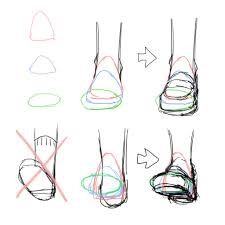 Anatomy Drawing Tutorial Perspective on feet and shoes drawing reference Drawing Techniques, Drawing Tutorials, Drawing Tips, Art Tutorials, Drawing Sketches, Drawing Ideas, Sketching, Art Drawings, Drawing Stuff
