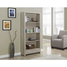 Shop for Natural Reclaimed-look Bookcase with Drawer. Get free shipping at Overstock.com - Your Online Furniture Outlet Store! Get 5% in rewards with Club O!