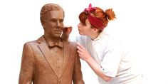 Just in time for Easter, a life-size chocolate sculpture of Sherlock Holmes fame Benedict Cumberbatch has been unveiled following a national poll that named him Britain's dishiest TV drama actor.  A team of eight chocolatiers in England hand-crafted this statute …