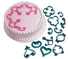 Wilton 21043160 12Piece CakeDecorating Press Set Decorator Favorites -- Want additional info? Click on the image.