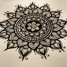 Sharpie flower zentangle sf my marker art and for Cool things to draw with markers
