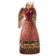 Jim Shore - Angel & Dove Figurine - 4005273 - R.R.P £45.00 Our Price £33.75
