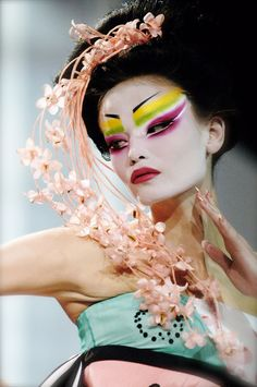 Natasha Poly was the first model I ever worked on for Dior Couture when I was assisting Pat McGrath.