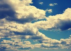"""Cloudy Sky 8""""x10"""" Glossy Fine Art Photograph Matted to 11""""x14"""" Ready to Frame By aleciaoflaherty on Etsy"""