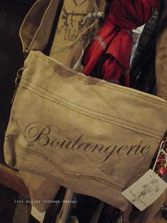 Round Barn Potting Company: vintage bags ~ per say.LM Brand