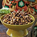 Indian-Spiced Roasted Nuts Recipe | MyRecipes.com Yummy for Christmas!