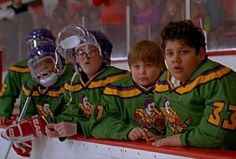 The Mighty Ducks. Love these movies!