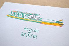 Matilda of Bristol // Original HandPulled Screen by TheRedSwallow, €19.00
