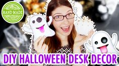 Today on HGTV Handmade, Karen has some Halloween Desk Decor for you, small easy projects that would be perfect to keep on your desk at school or at work! Wat...