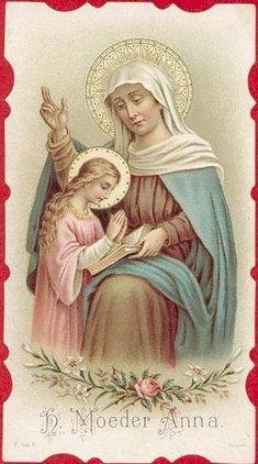 Moeder Anna | Flickr: Intercambio de fotos Mary Jesus Mother, Blessed Mother Mary, Mary And Jesus, Blessed Virgin Mary, Catholic Crafts, Catholic Art, Catholic Saints, Saint Joachim, Religion Catolica