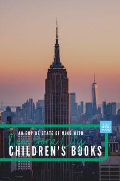 Children's books set in NYC. Want a great family trip? Prepare kids by reading books set in your destination. It makes such a great impact. #kidstravelbooks #familytrip