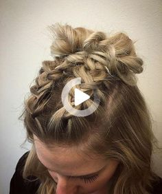 Riding the braid wave? With these step-by-step instructions, you'll nail down 15 gorgeous braid styles in no time #easyhairstyles Cute Simple Hairstyles, Easy Hairstyles For Long Hair, Braided Hairstyles Tutorials, Braid Hairstyles, Hairstyle Short, Reverse French Braids, Concert Hairstyles, Short Hair Styles Easy, Braids For Short Hair