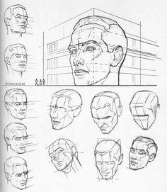 Dessiner les têtes | leflux.fr