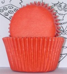 Golda's Kitchen 100 Count Solid Baking Cups, Standard, Orange: Approximately 100 Cups. SIZE: H 1 X B 1 Greaseproof/Glassine. Quick, colorful and festive way to dress up your cupcakes and muffins. Also great for holding candies, nuts and other party snack. Small Cupcakes, Baking Cupcakes, Mini Cupcakes, Baking Supplies, Baking Tools, Baking Ideas, Cupcake Liners, Cupcake Wrappers, Baking Supply Store