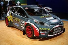 Ford Fiesta Rally car!