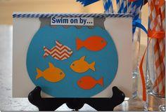 Fish Party Invite - Silhouette Project