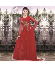 Red Net Gown #ohnineone
