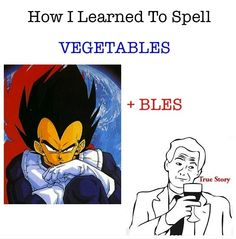 How I Learned To Spell vegetables... One Stop Humour
