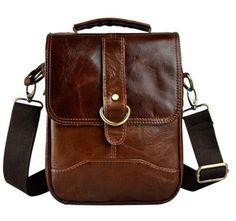 PUEBLO DATOLYABARNA MULTIFUNKCÓS VALÓDI BŐR CROSSBODY Satchel Backpack, Crossbody Messenger Bag, Messenger Bag Men, Leather Crossbody, Leather Backpack, Casual Bags, Men Casual, Leather Men, Vintage Leather