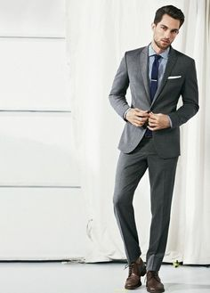 A well-fitted suit