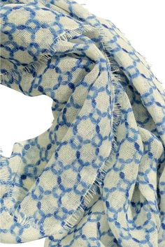 Wzorzysty szalik wełniany | H&M
