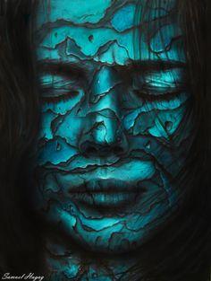 Women layers- original oil painting print by SamuelHagaPainter on Etsy