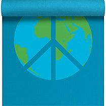I'm very happy with my current yoga mat, but looking at this while practicing would be beautiful. Shanti shanti!