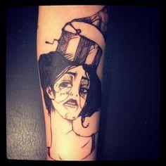 Original Artwork by Dimitra Soukiouroglou; Tattoo by Madame CHäN