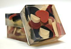 Glycerin soap with shapes