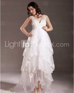 Just as pregnant brides should put on maternity wedding dresses, every bride also ought to pick out their own special and fitted wedding dresses. Here is the Sweetheart Sweep/Brush Train Sheath/Column Wedding Dresses With Beading Embroidery right for you. Strapless gown with sweetheart pleated asymmetrical bodice,