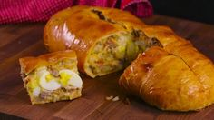 Get Breakfast Garbage Bread Recipe from Food Network
