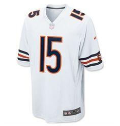 NFL Jersey's Mens Chicago Bears Brandon Marshall Nike Navy Blue Replica Game Jersey